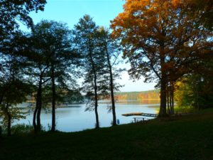 jezioro trzesniowskie - zanim opadna liscie 1.4jpg