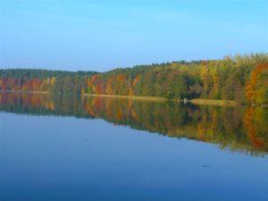 jezioro trzesniowskie - zanim opadna liscie 9